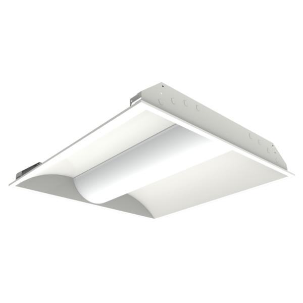 EcoHX™ Integrated LED Troffer ...  sc 1 st  HX Lighting Inc. & EcoHX™ Integrated LED Troffer Mount - 2X2 Center Lens - HX Lighting ...